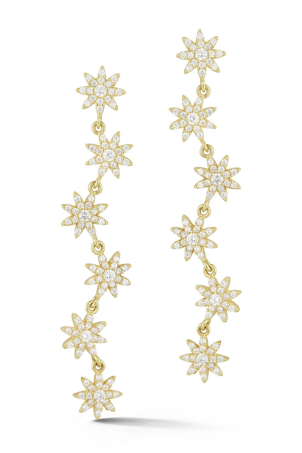Image of Sphera Milano Gold Vermeil Flower Earrings
