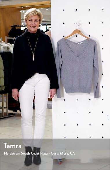 Sadie Cashmere Blend V-Neck Sweater, sales video thumbnail