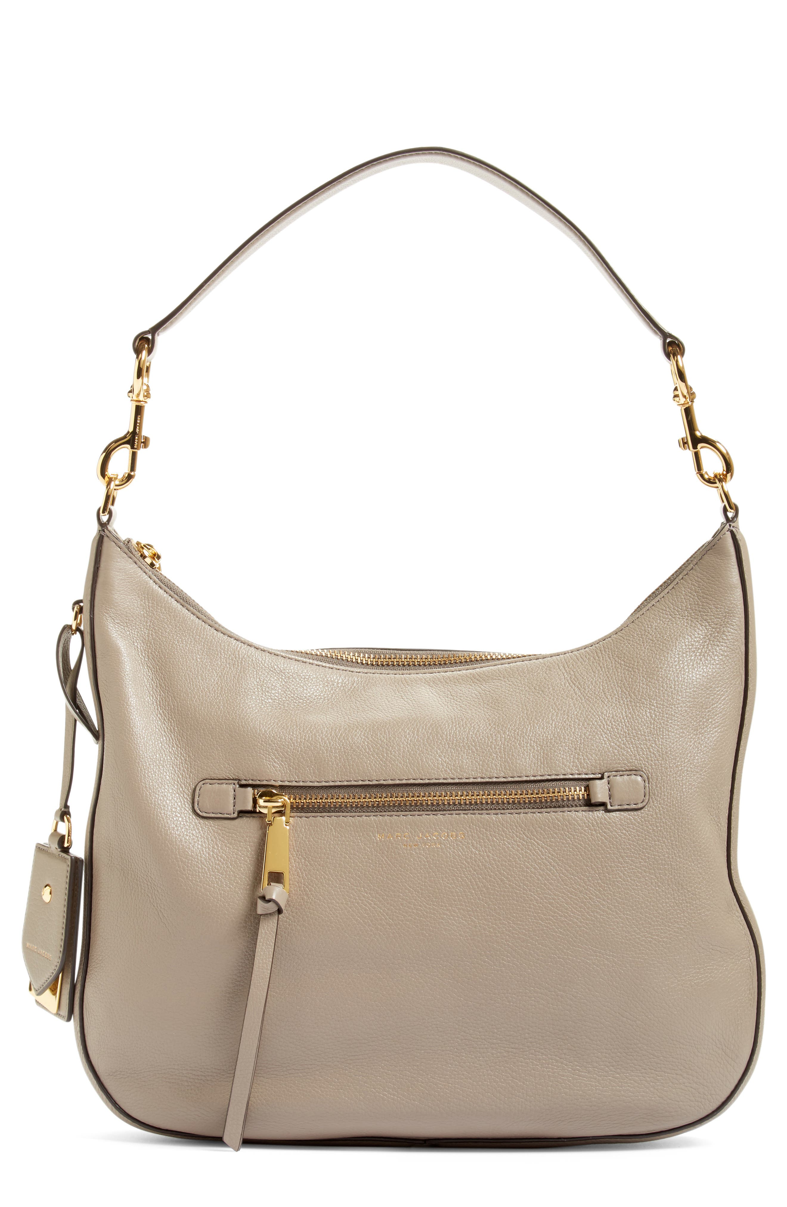 Image of Marc Jacobs Recruit Leather Hobo