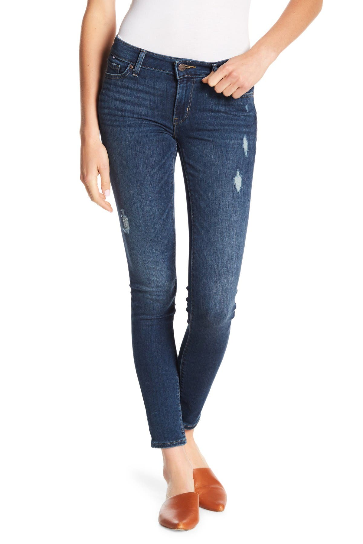 """Image of Levi's 711 Distressed Skinny Jeans - 30-32"""" Inseam"""