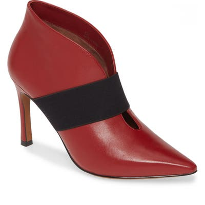Linea Paolo Natasha Leather Bootie- Red