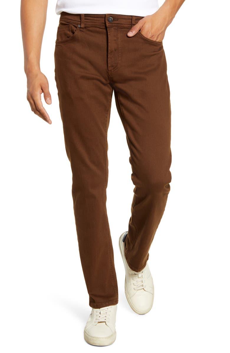 BLANKNYC Wooster Slim Fit Twill Pants, Main, color, 400