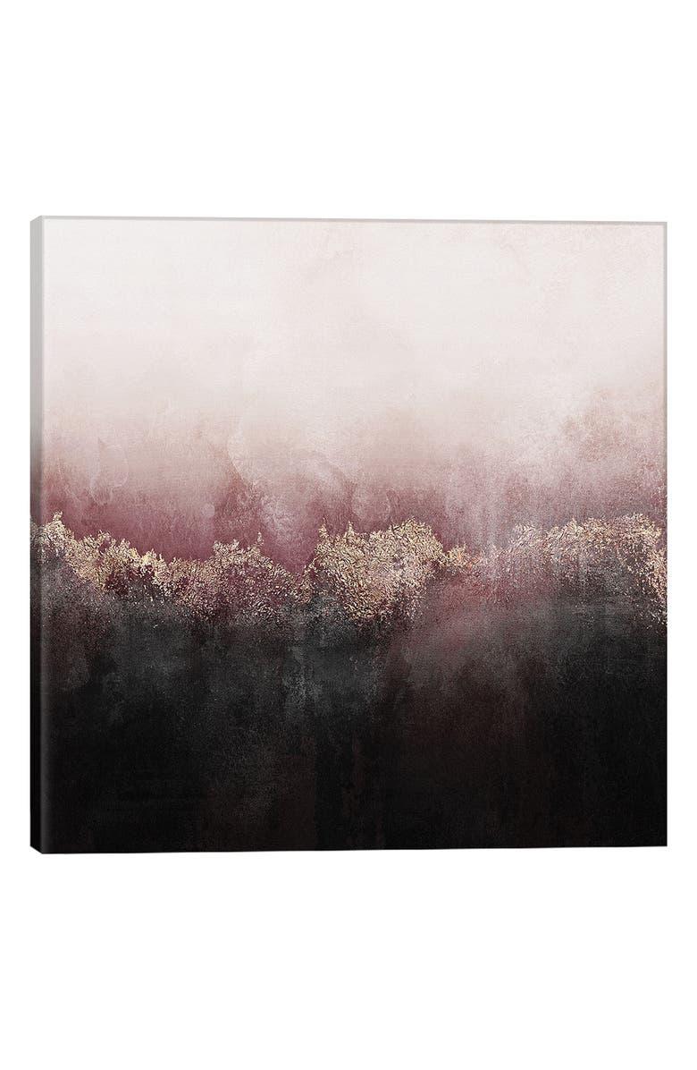 ICANVAS Pink Sky Giclée Print Canvas Art, Main, color, SILVER