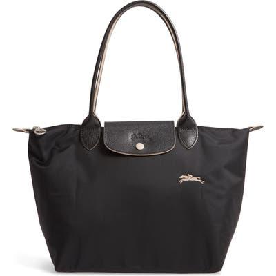 Longchamp Le Pliage Club Small Shoulder Tote - Black