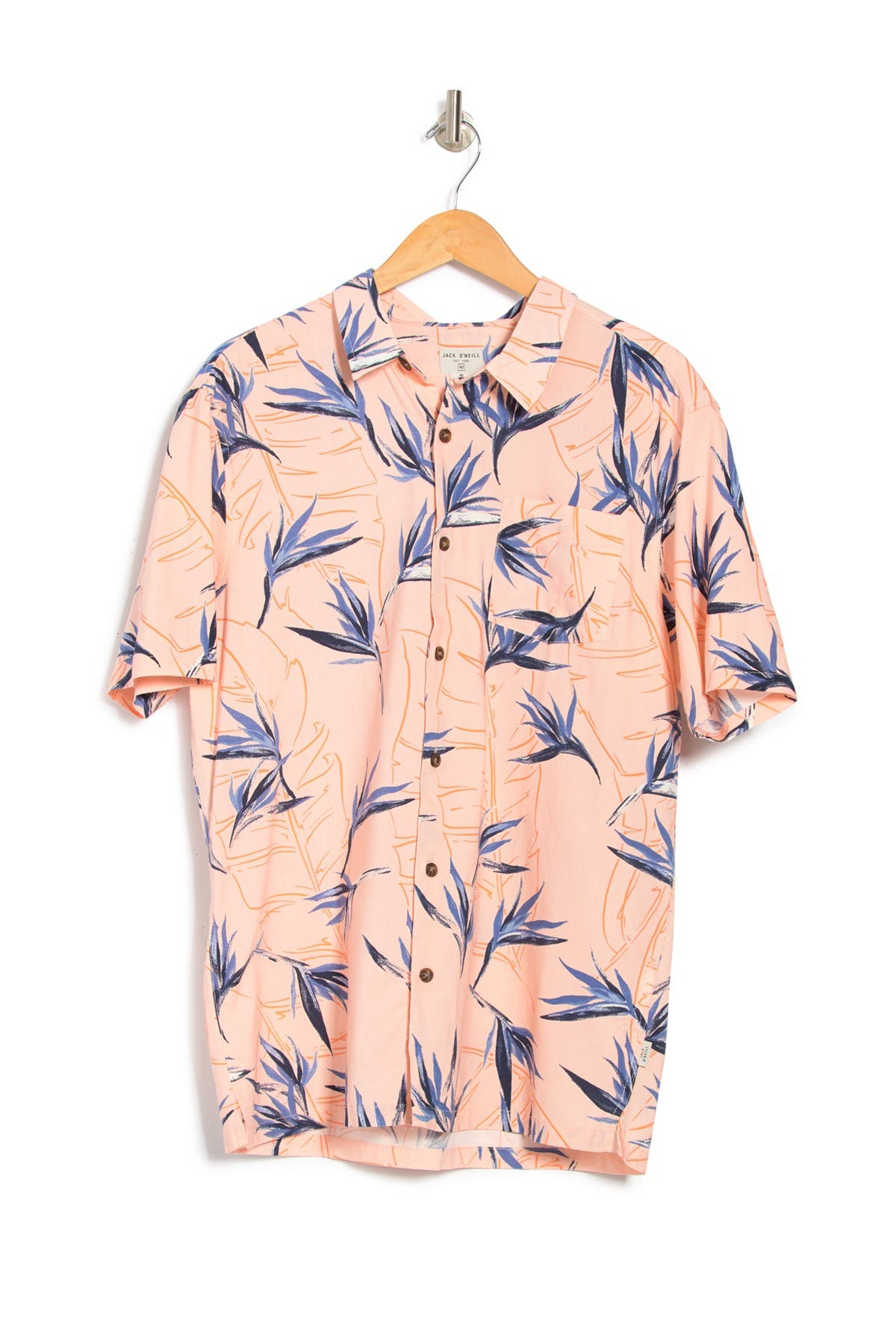 Jack O'Neill   Radcliffe Birds of Paradise Printed Regular Fit Shirt   Nordstrom Rack
