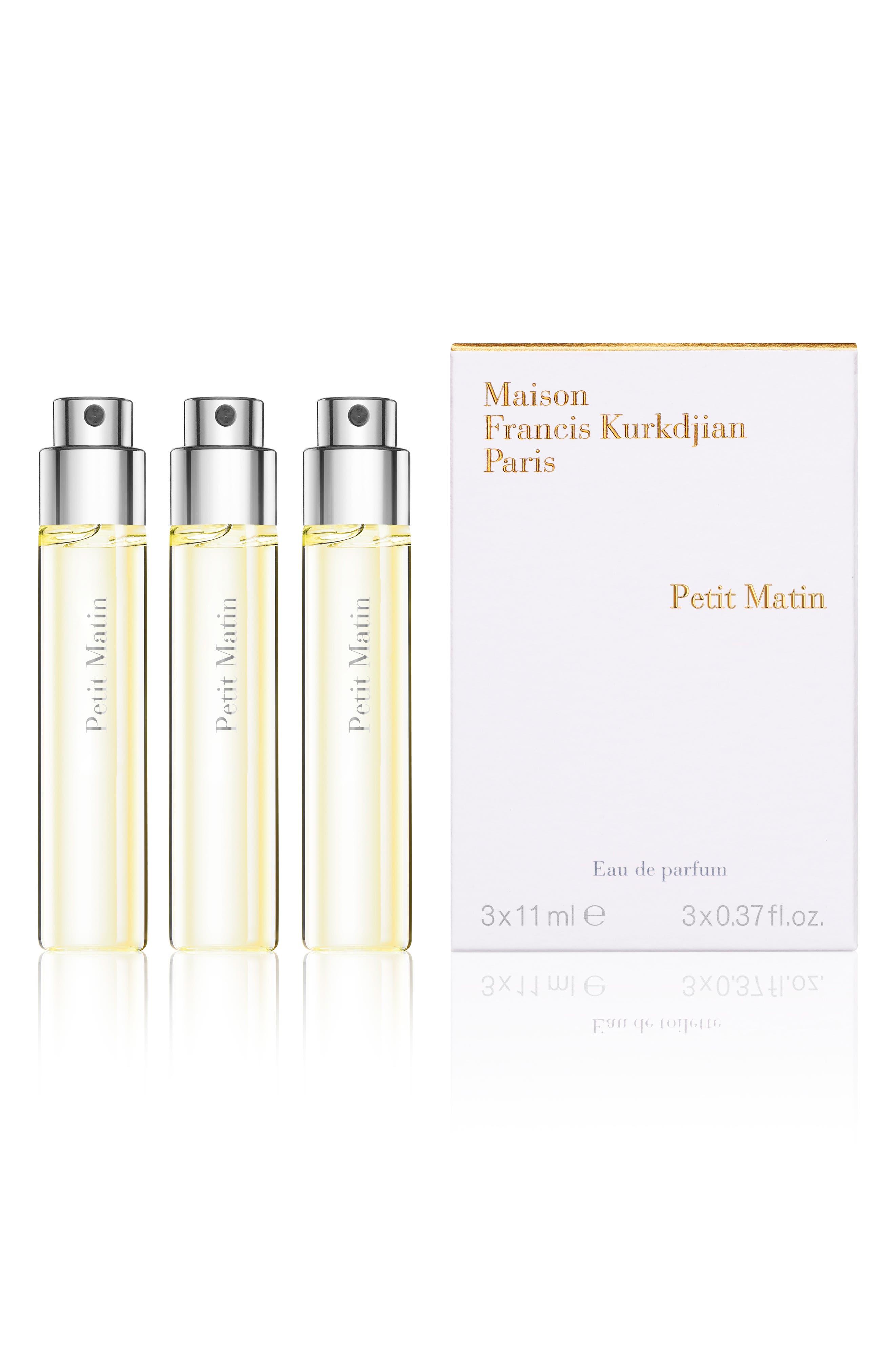 Paris Petit Matin Eau De Parfum Travel Spray Trio