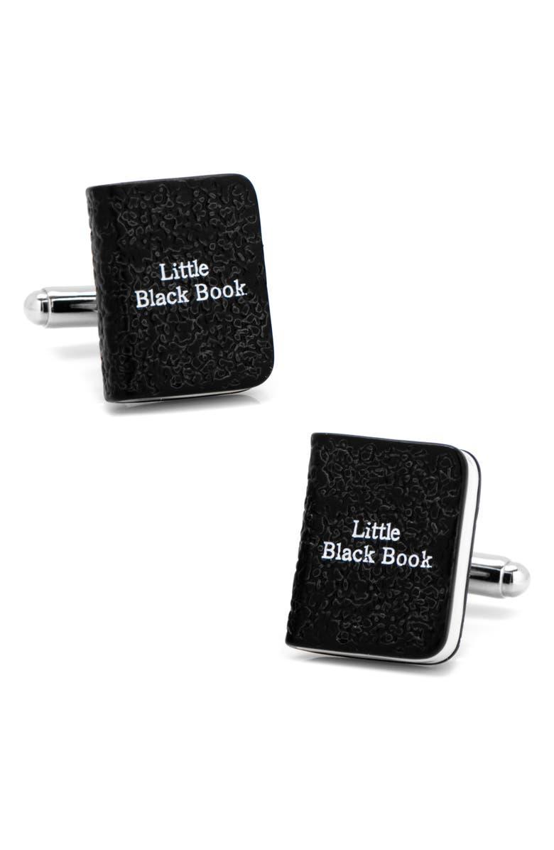 CUFFLINKS, INC. Little Black Book Cuff Links, Main, color, 001