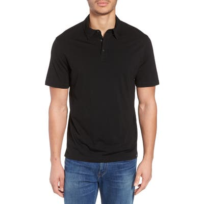 Smartwool Merino 150 Wool Blend Polo Shirt, Black