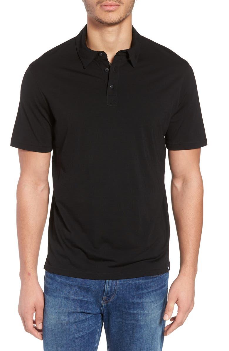 SMARTWOOL Merino 150 Wool Blend Polo Shirt, Main, color, 001