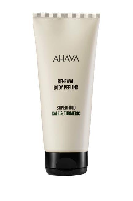 Image of AHAVA Dead Sea Renewal Body Peel Kale & Turmeric - 200ml