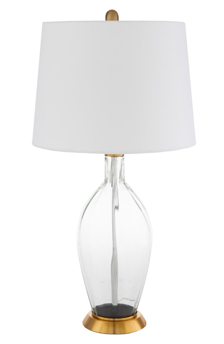 SURYA HOME Carla Table Lamp, Main, color, WHITE