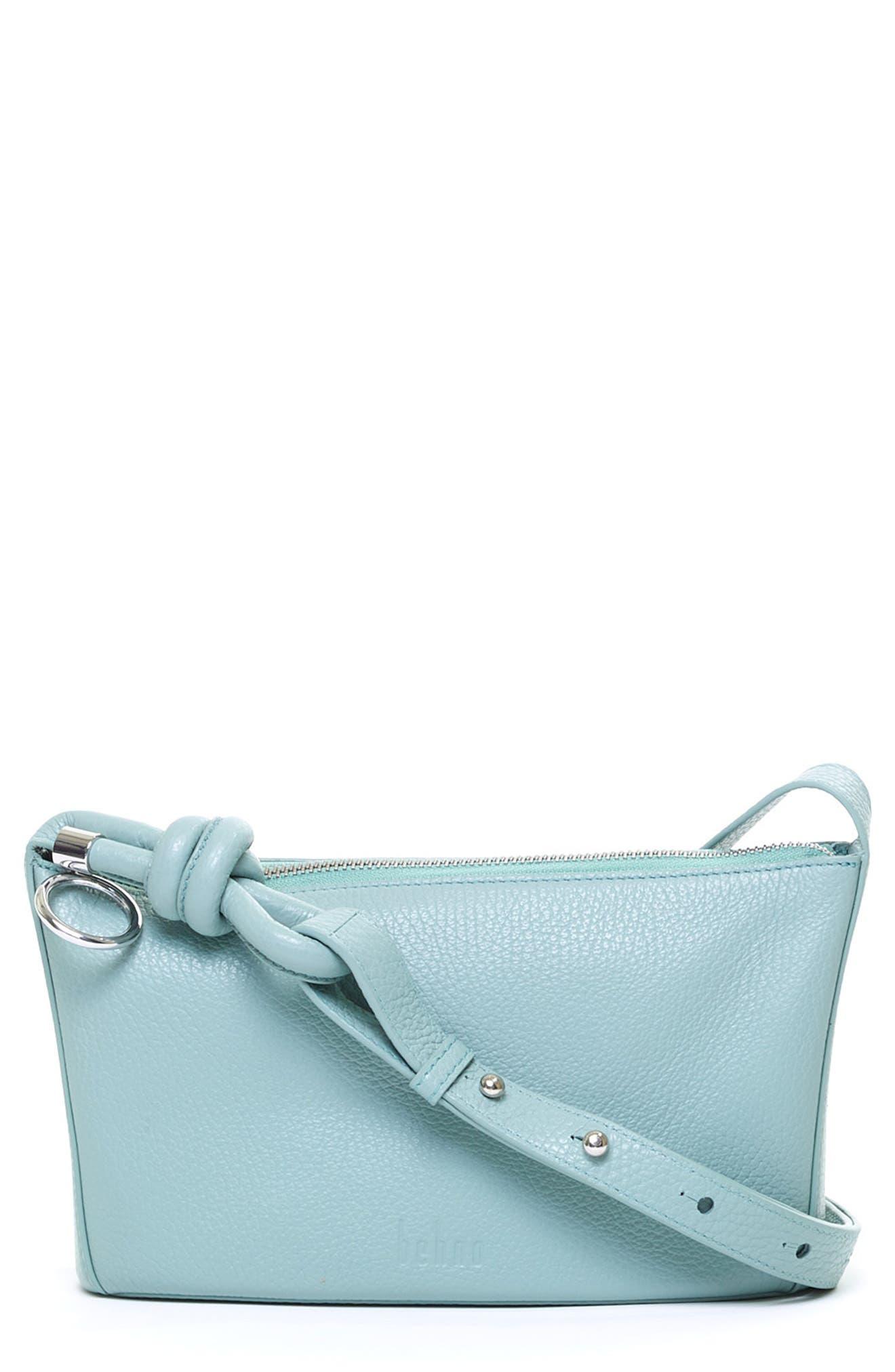Janae Leather Crossbody Bag