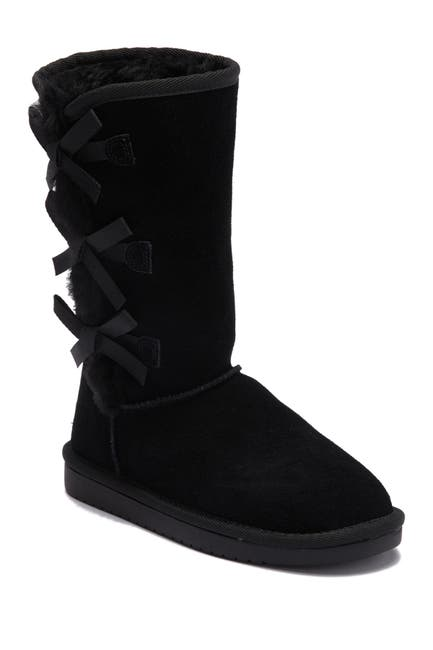 Image of KOOLABURRA BY UGG Victoria Faux Fur Lined Suede Tall Boot