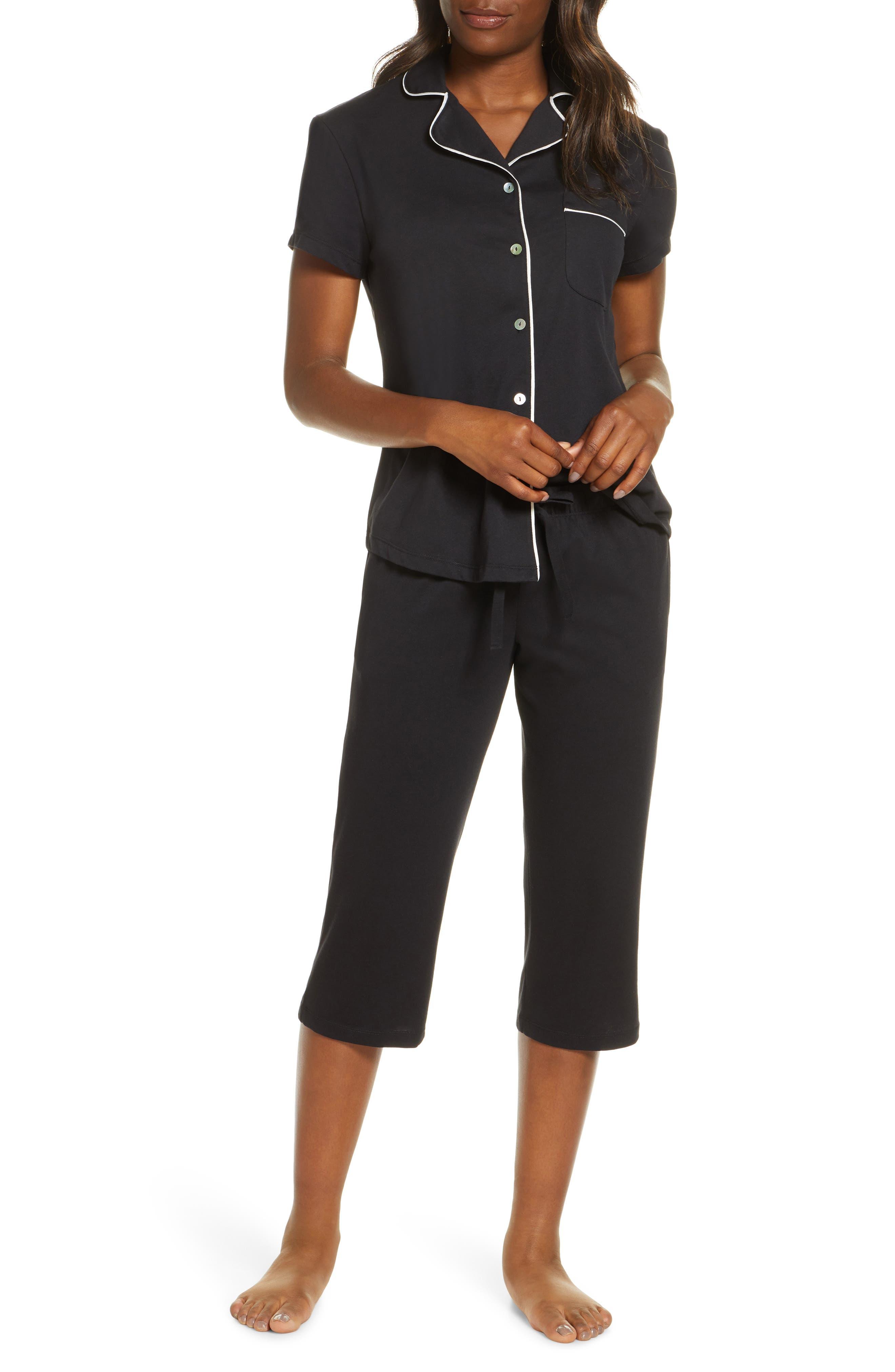 Donna Crop Pajamas