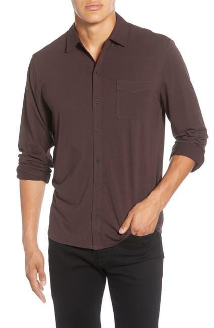 Image of PAIGE Stockton Classic Tech Jersey Shirt