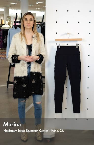 High Waist Cargo Leggings, sales video thumbnail