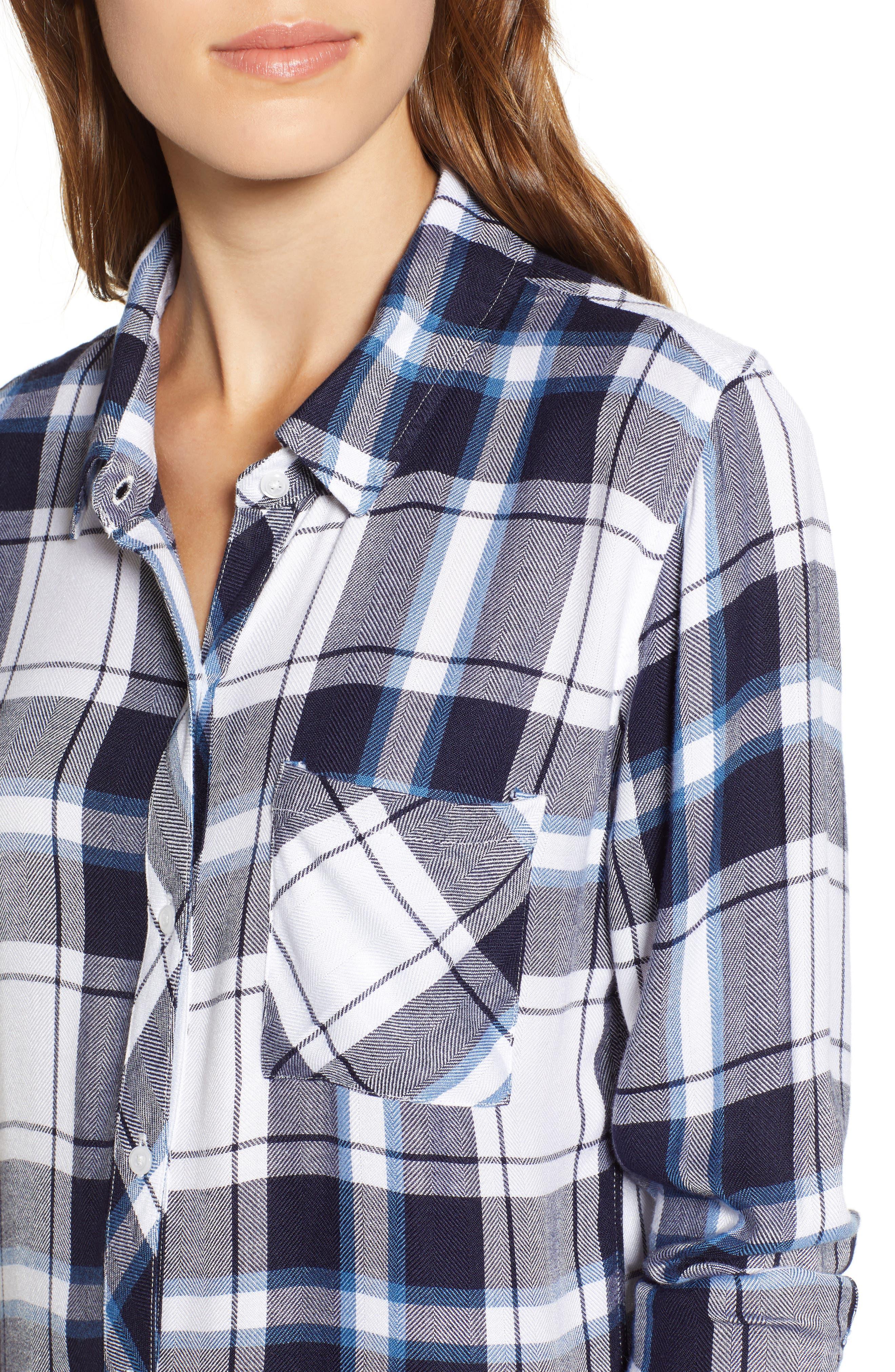 ,                             Hunter Plaid Shirt,                             Alternate thumbnail 284, color,                             169