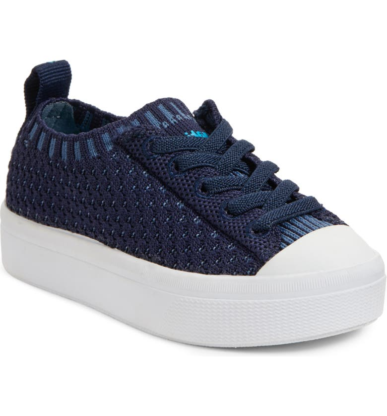NATIVE SHOES Native Jefferson 2.0 LiteKnit Sneaker, Main, color, REGATTA BLUE/ SHELL WHITE