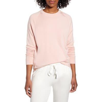 Lou & Grey Signaturesoft Plush Sweatshirt, Pink