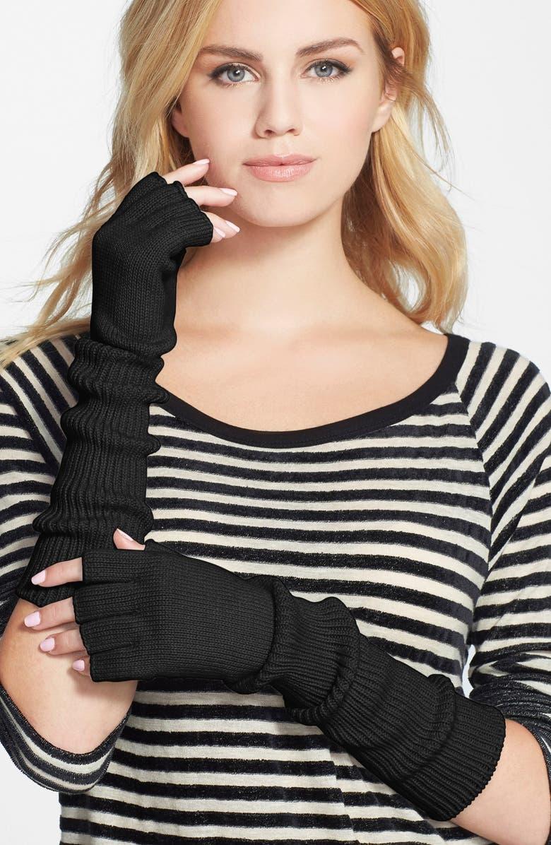 PHASE 3 Fingerless Gloves, Main, color, 001