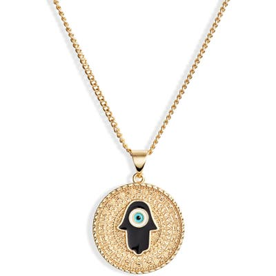 Sterling Forever Medallion Pendant Necklace