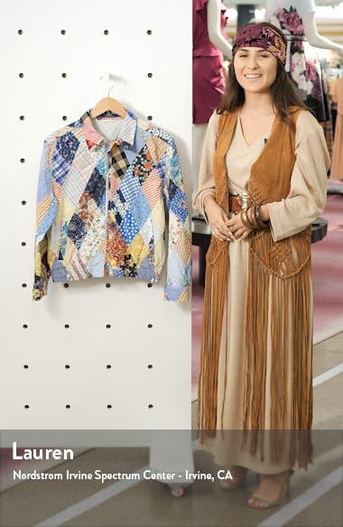 Patchwork Cotton & Linen Jacket, sales video thumbnail