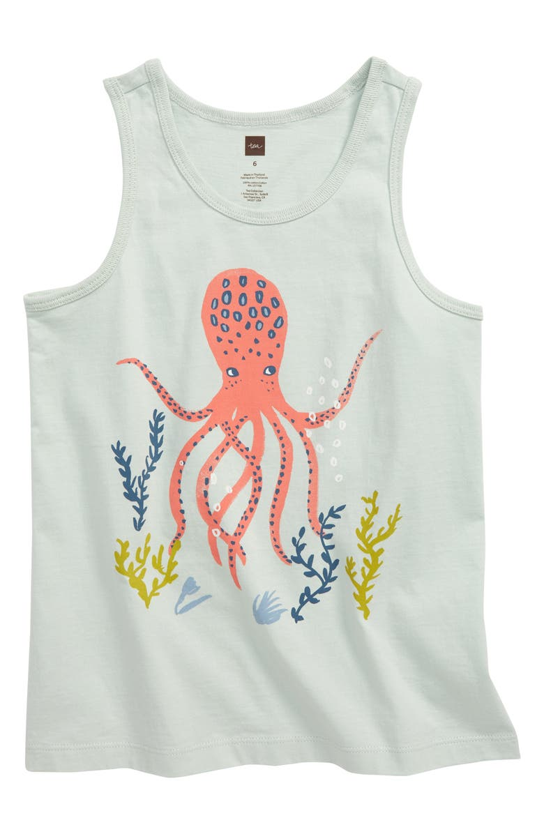 TEA COLLECTION Octopus Graphic Tank, Main, color, 300