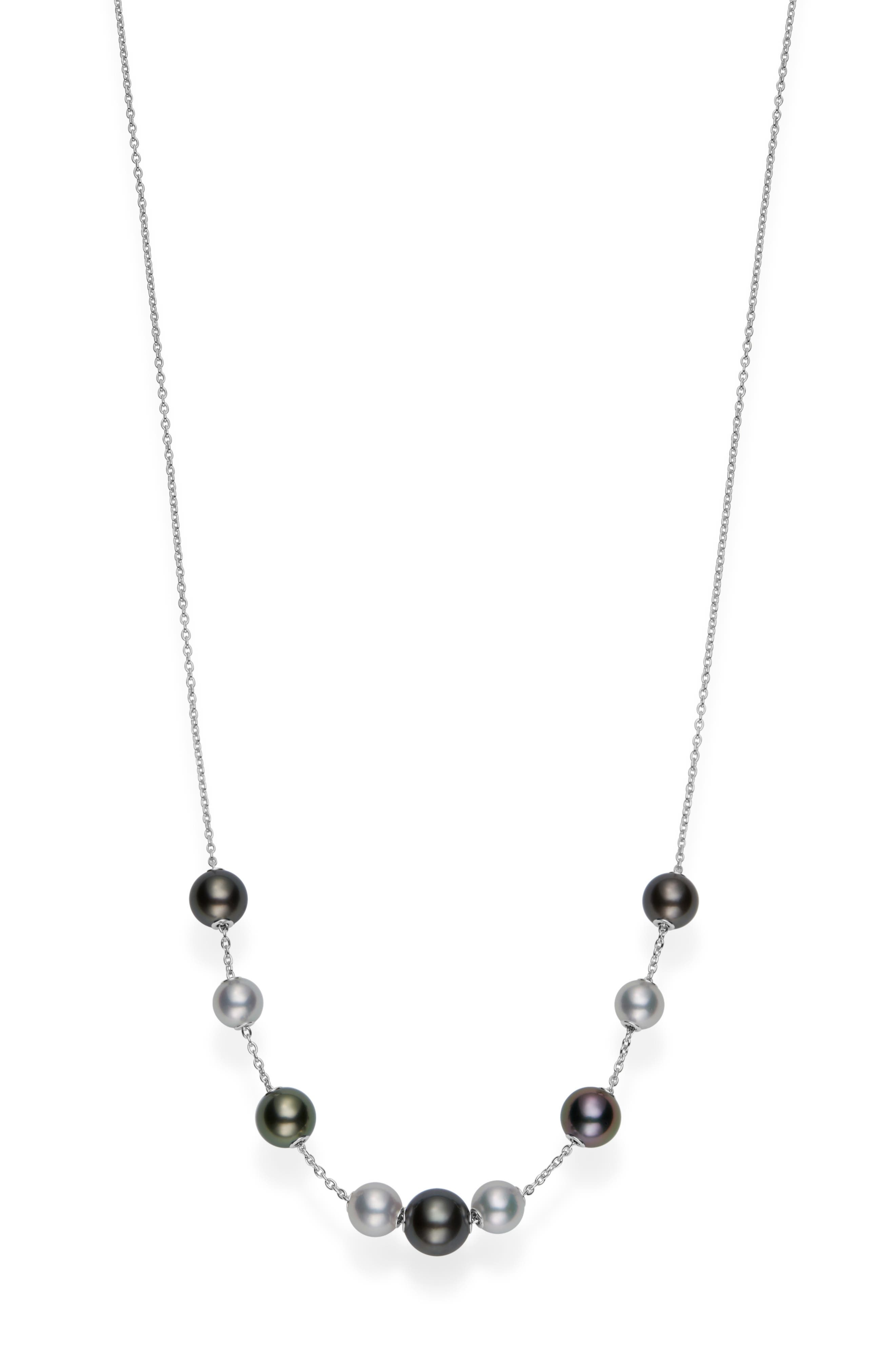 South Sea Cultured Pearl Frontal Necklace