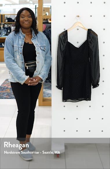 Sweetheart Long Sleeve Minidress, sales video thumbnail