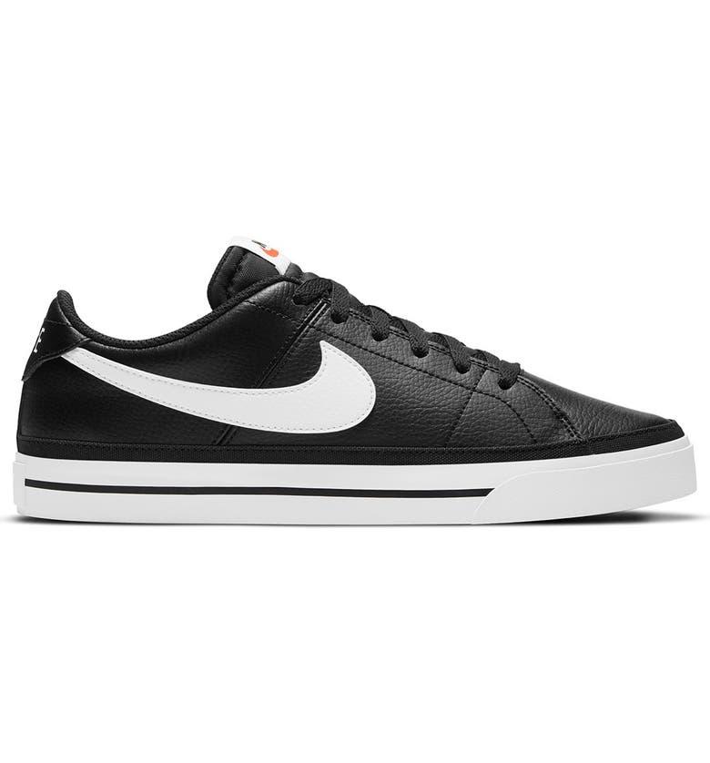NIKE Court Legacy Sneaker, Main, color, 002 BLACK/WHITE