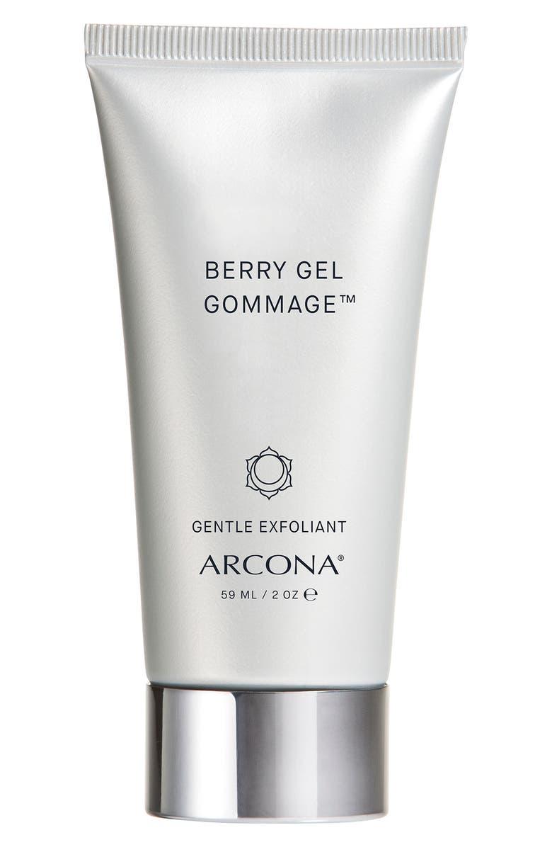 ARCONA Berry Gel Gommage Gentle Exfoliant, Main, color, NO COLOR
