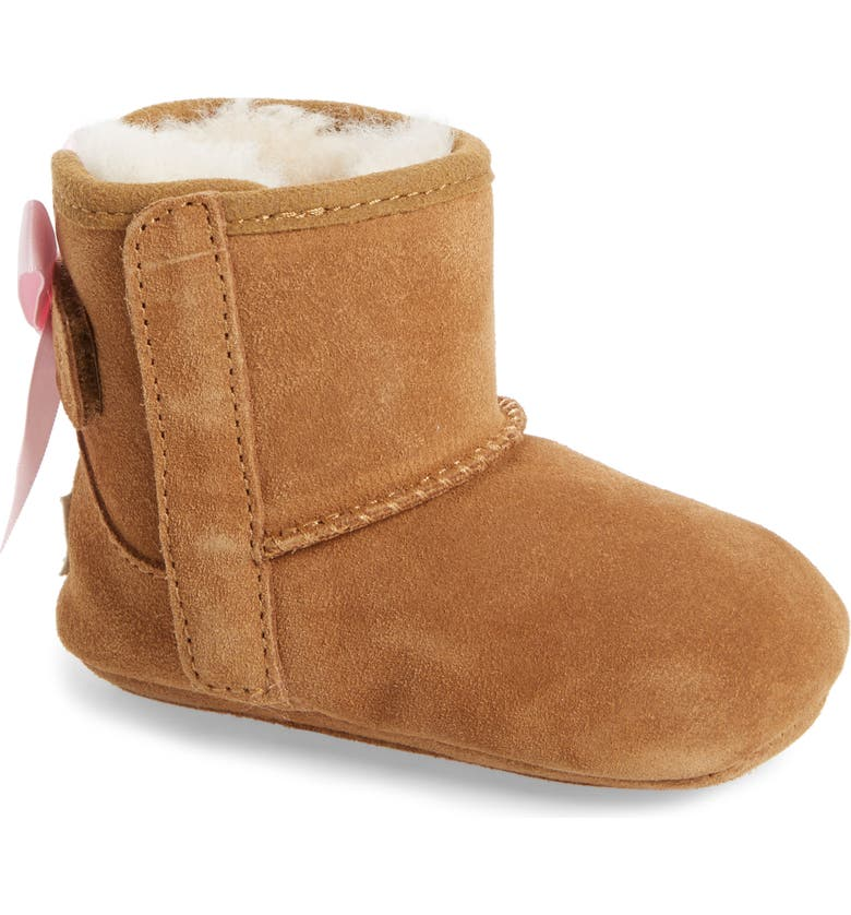 UGG<SUP>®</SUP> Jesse Bow II Bootie, Main, color, CHESTNUT BROWN