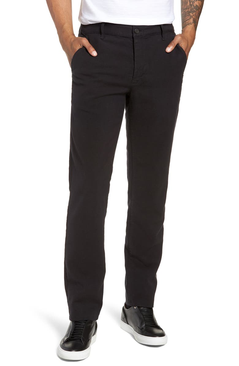 AG Marshall Slim Fit Chino Pants, Main, color, GREY STONE