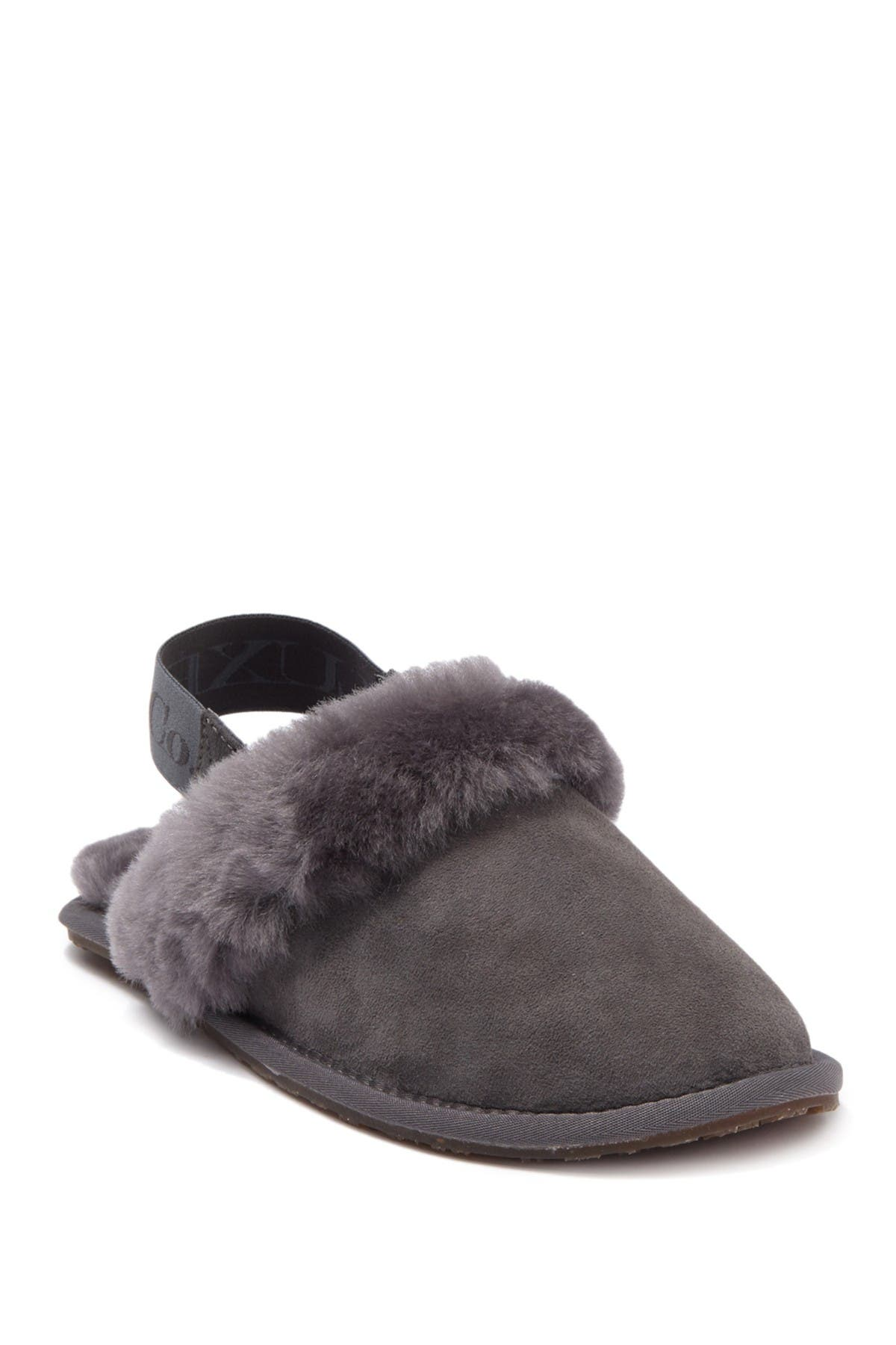 Image of Australia Luxe Collective Genuine Shearling Slingback Mule Slipper