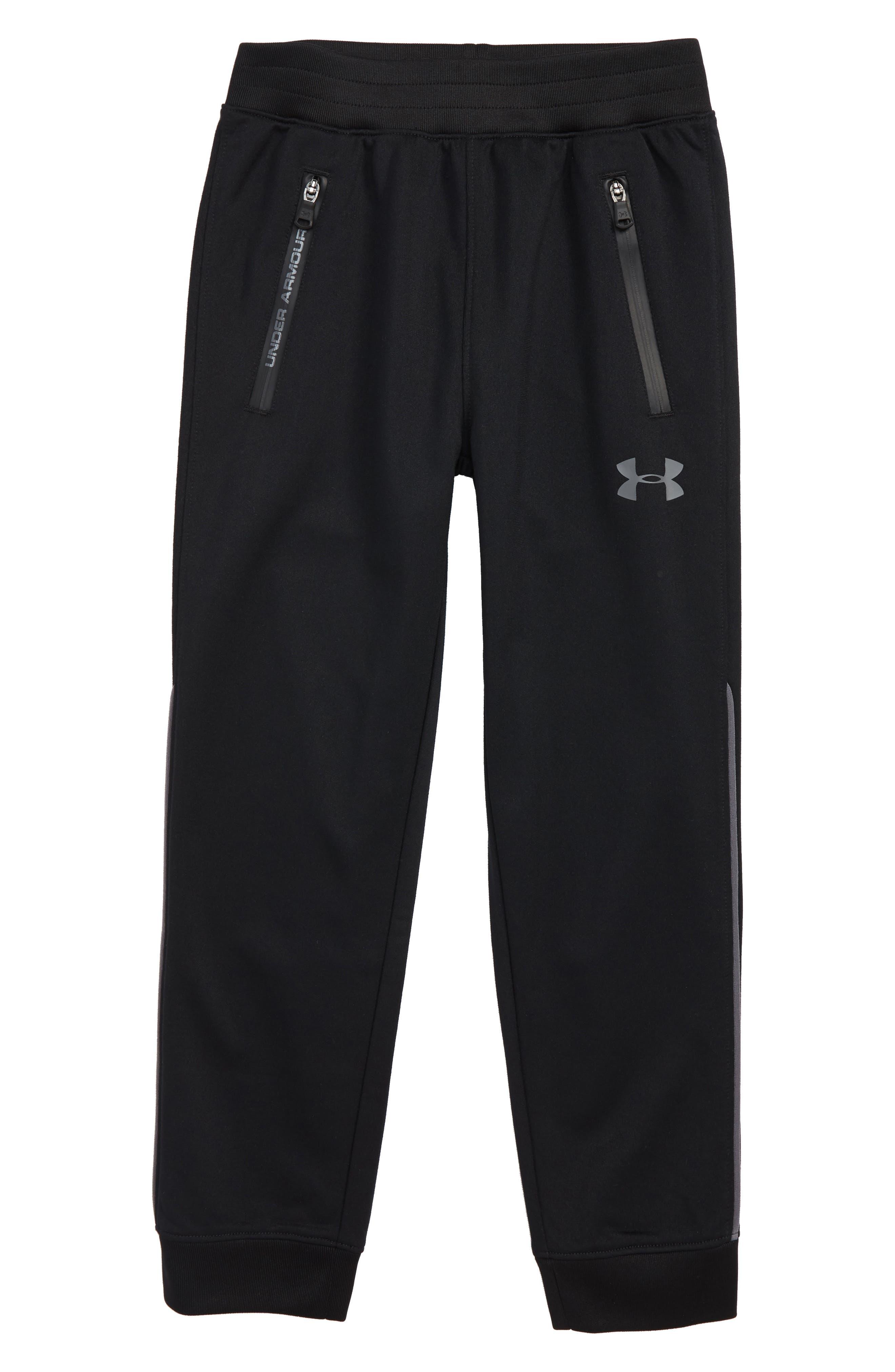 Boys Under Armour Pennant Pants Size 7  Black