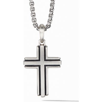 David Yurman Deco Cross Pendant