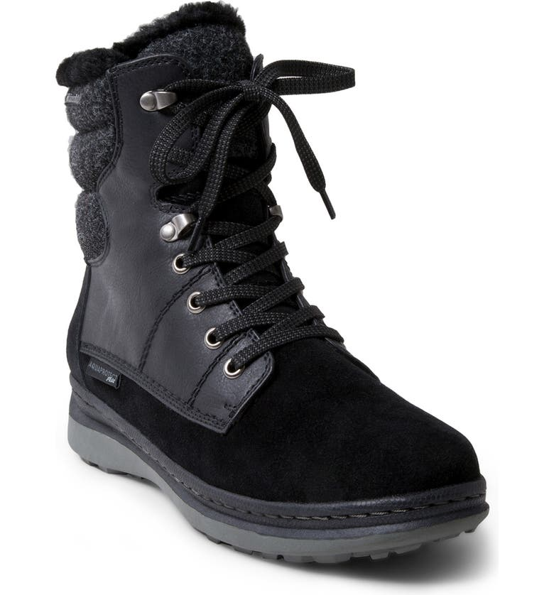 BLONDO Iselles Waterproof Hiking Boot, Main, color, BLACK WATERPROOF SUEDE