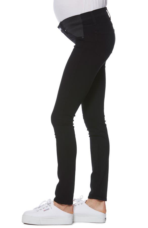 182f53bcd7eb3 PAIGE 'Transcend - Verdugo Ultra Skinny Maternity Jeans (Black Shadow) |  Nordstrom