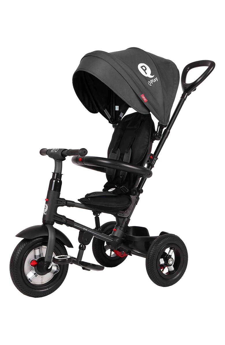 POSH BABY & KIDS Rito 3-in-1 Folding Stroller/Trike, Main, color, BLACK