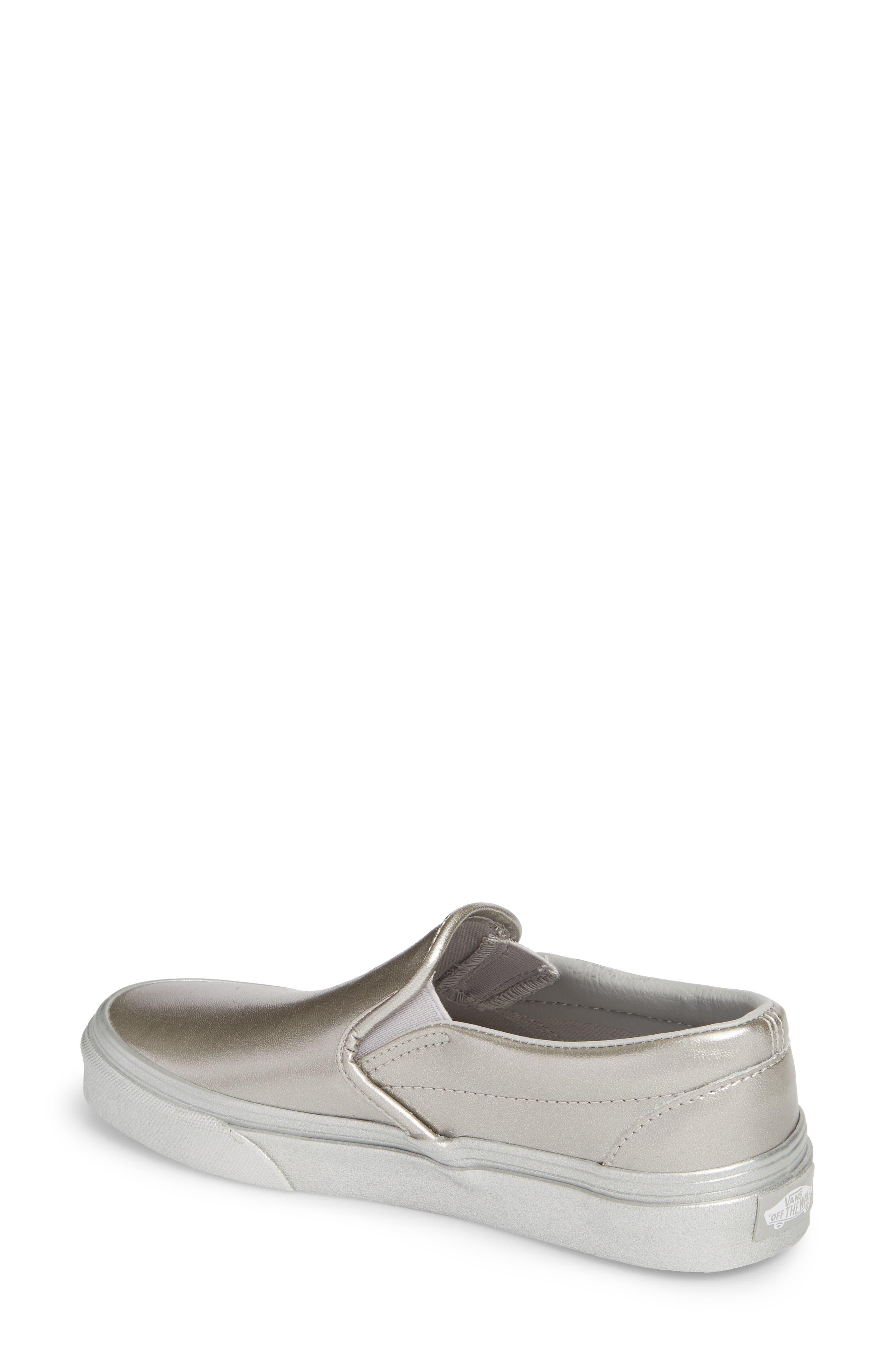 ,                             Classic Slip-On Sneaker,                             Alternate thumbnail 100, color,                             045