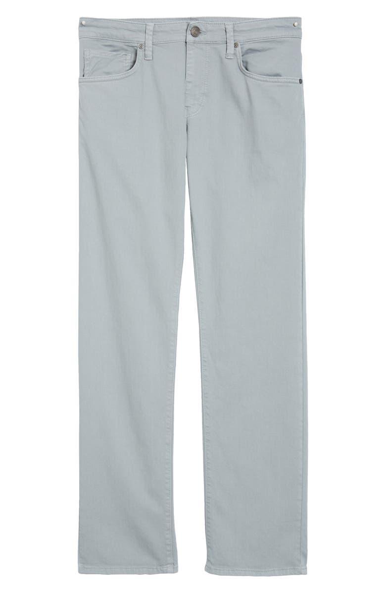 MAVI JEANS Zach Straight Leg Twill Pants, Main, color, ICE GREY FUTURE COMFORT
