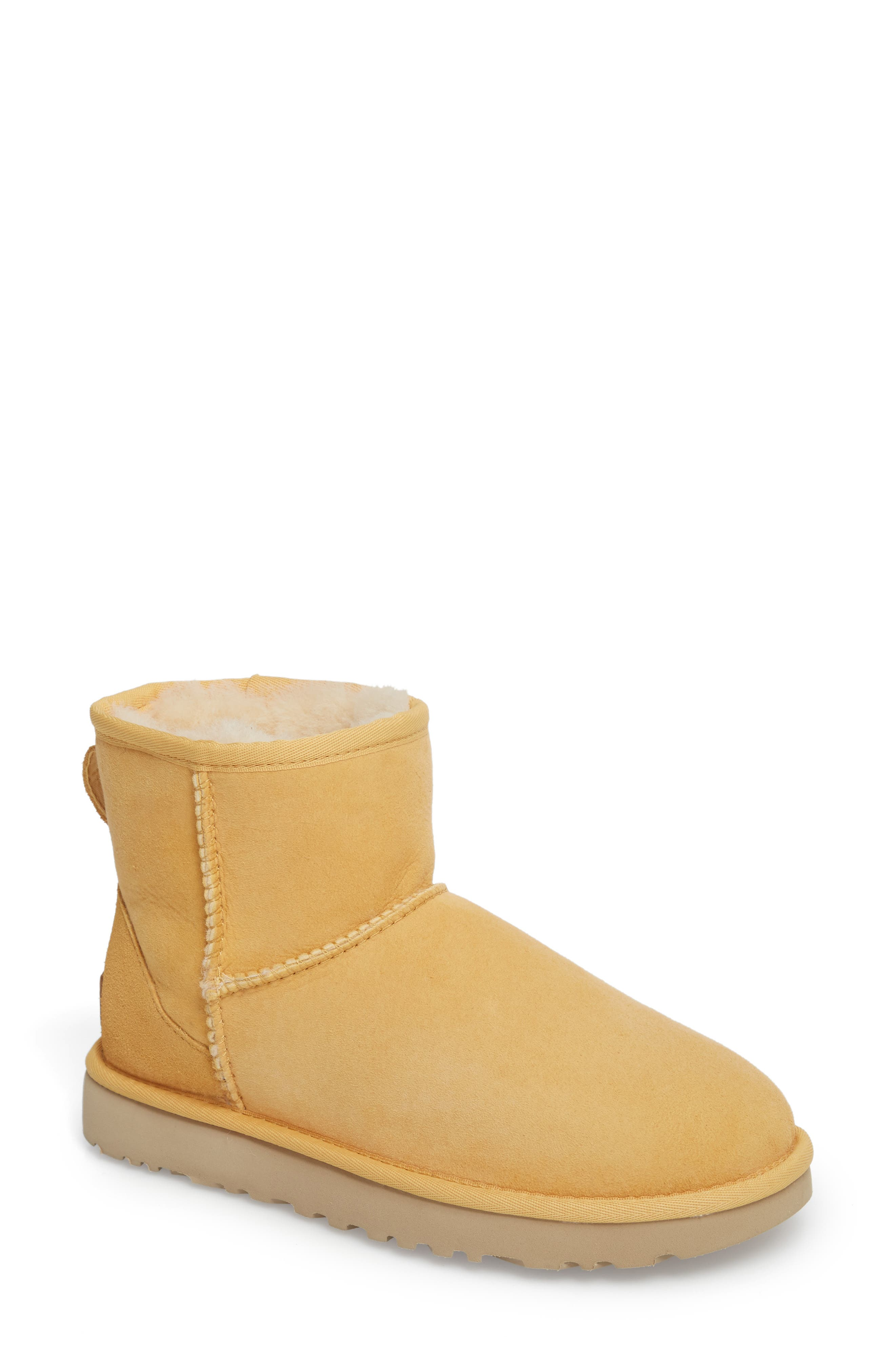 ,                             Classic Mini II Genuine Shearling Lined Boot,                             Main thumbnail 81, color,                             700
