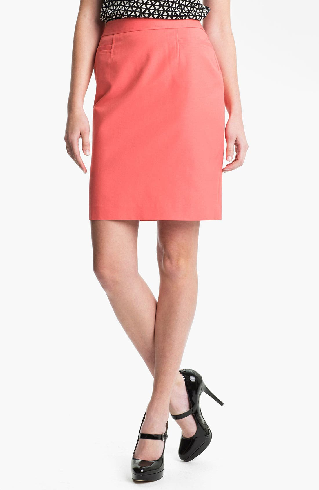 ,                             Stretch Woven Skirt,                             Main thumbnail 38, color,                             950