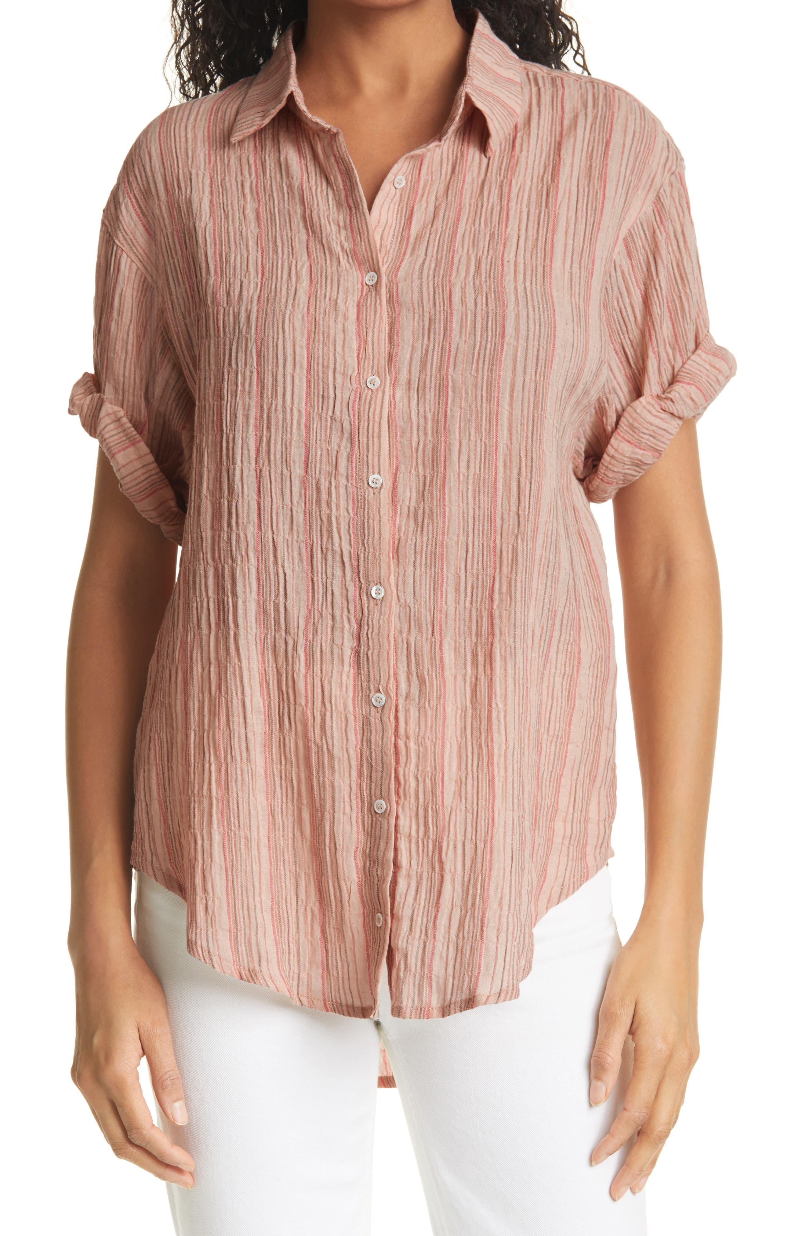 Pari Short Sleeve Camp Shirt