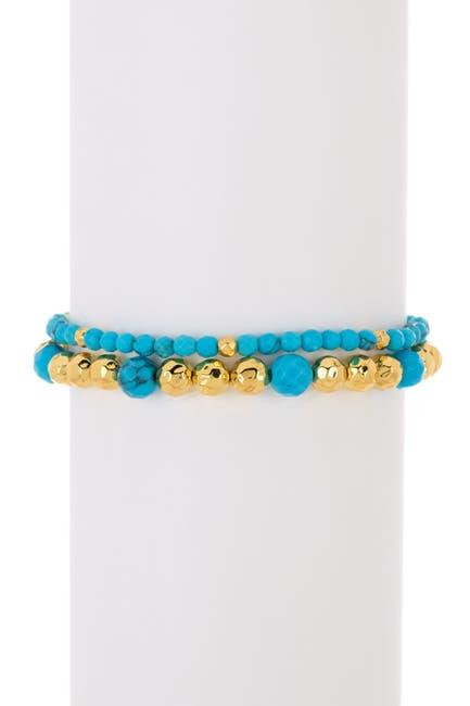 Image of Gorjana Gypset Gemstone Bracelet Set