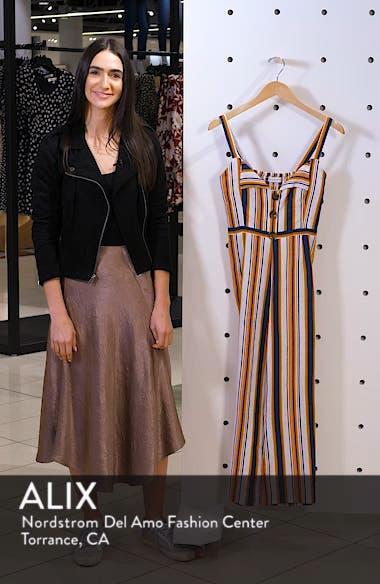 Scout Stripe Sleeveless Linen Jumpsuit, sales video thumbnail