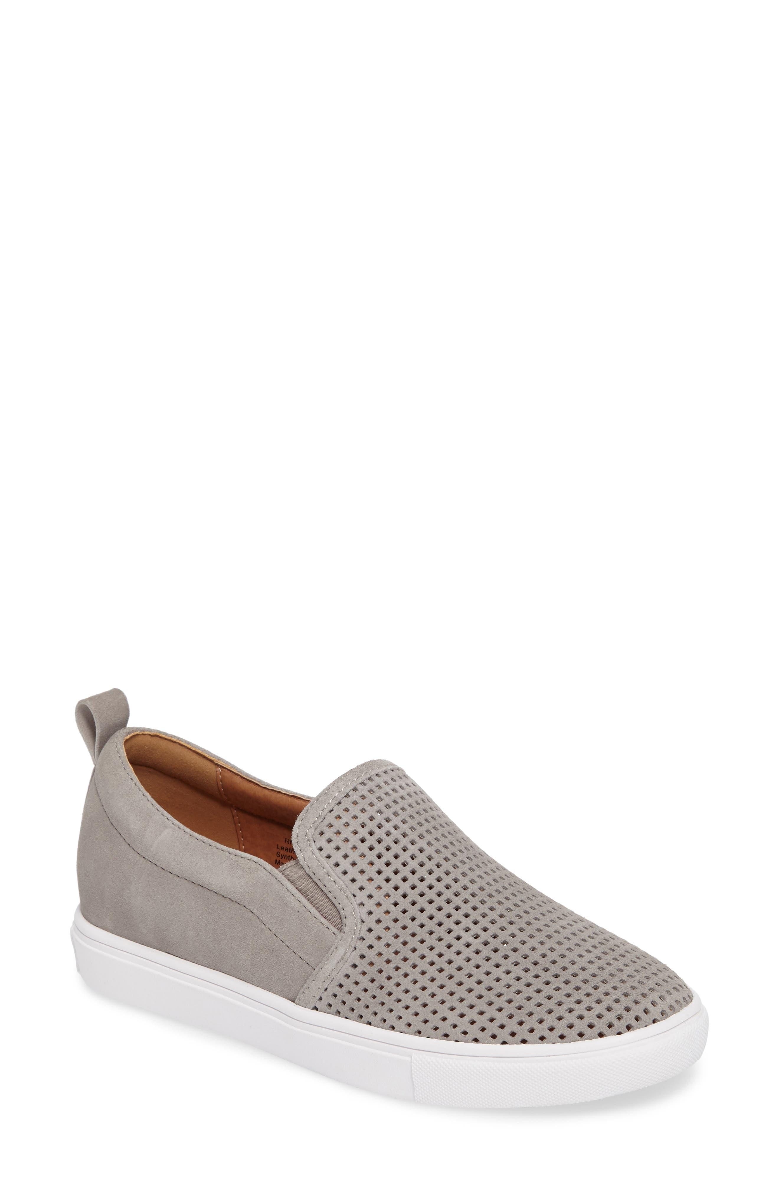 ,                             Eden Perforated Slip-On Sneaker,                             Main thumbnail 7, color,                             022