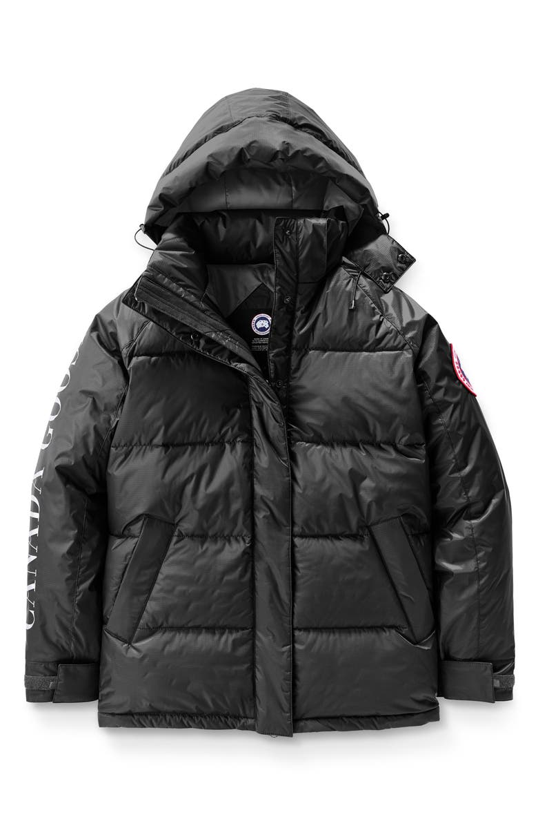 CANADA GOOSE Approach Waterproof & Windproof Down Jacket, Main, color, BLACK