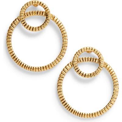 Karine Sultan Double Hoop Earrings
