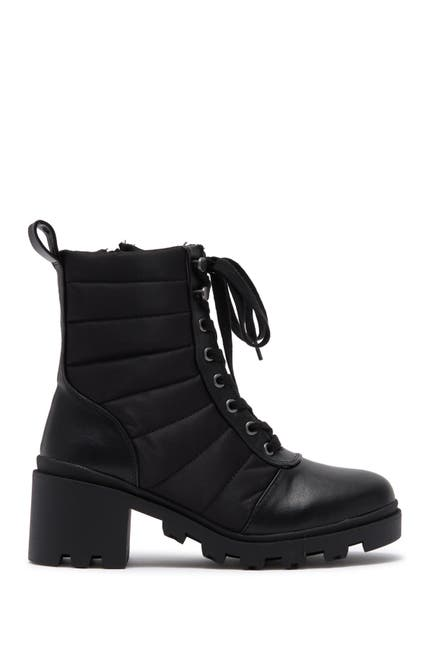 Image of DV DOLCE VITA Nilda Quilted Cold Weather Lace-Up Boot
